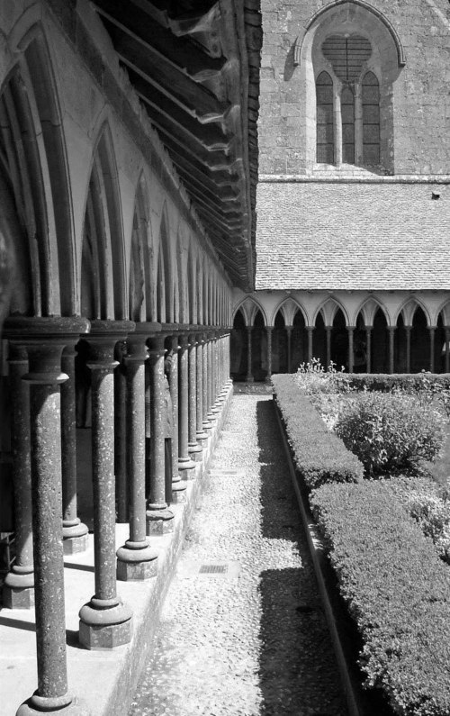 Cloisters of Mont St-Michel
